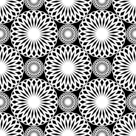 iteration: Seamless pattern di pizzo. Trama di Rosetta.