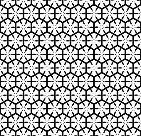 diagonal: Seamless geometric pattern with hexagonal elements.