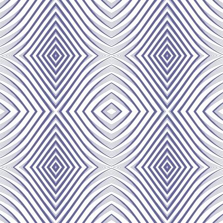 Seamless geometric rhombuses pattern. Vector art.