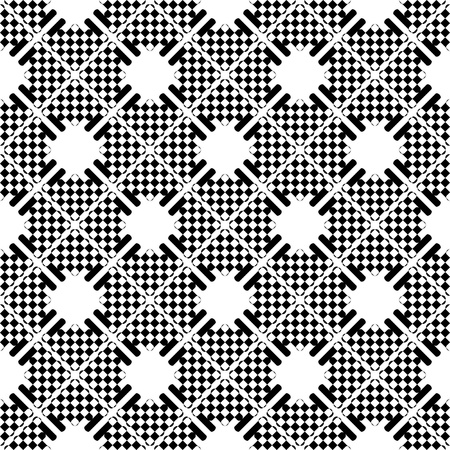 checked: Seamless checkered pattern.  Illustration