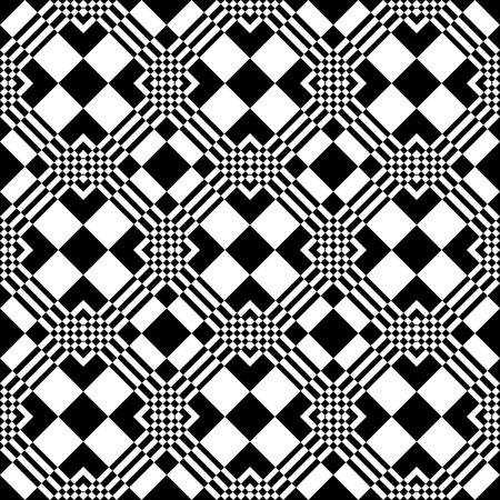 Seamless checkered pattern.  Illustration
