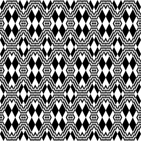 optical art: Patr�n geom�trico sin problemas. Vectores