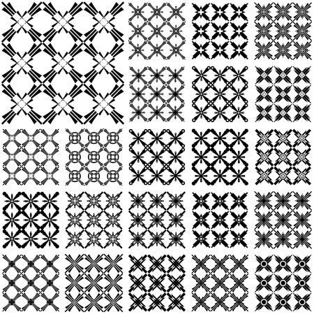 iteration: Perfetta motivi geometrici. Scenografie con elementi trasversali. Arte vettoriale.