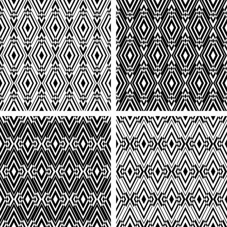シームレスな幾何学模様入り菱形華やかです。
