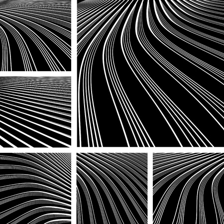 op: Abstract backgrounds with movement effect.