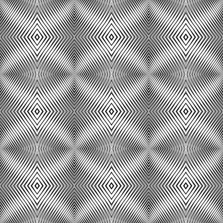 オップ ・ アート デザインのシームレスなパターン。テクスチャのベクトルの背景。グラデーションなし。