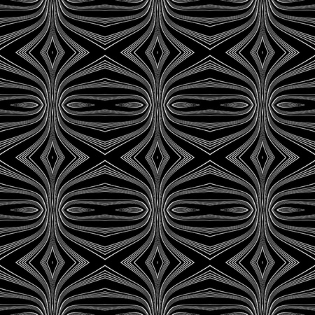 Seamless pattern. Lines texture.  Vector