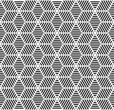 geometric: Seamless geometric pattern.
