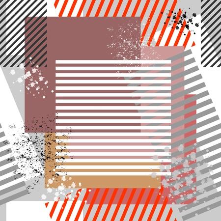 Seamless grunge textured background. Vector art. Vector