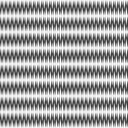 roztrhaný: Bezešvé vzor se zoubkovaným designem. Vector art.