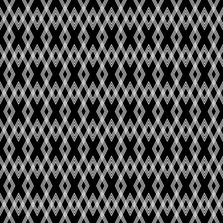 Seamless diamond texture. Geometric pattern. Vector art.