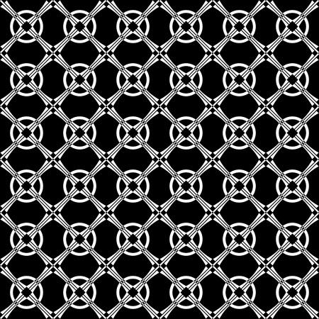 crisscross: Seamless geometric crisscross pattern. Vector art.