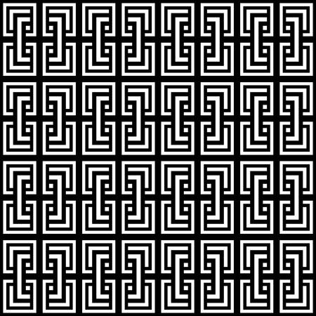 filling line: Seamless geometric op art pattern. Vector illustration. Illustration
