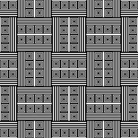 Seamless op art pattern. Vector illustration. Vector