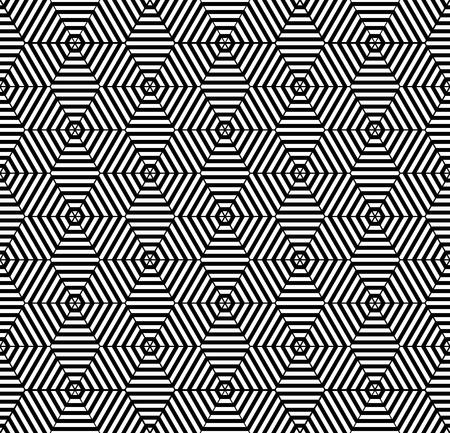 iteration: Seamless pattern con elementi di diamante. Vector art.