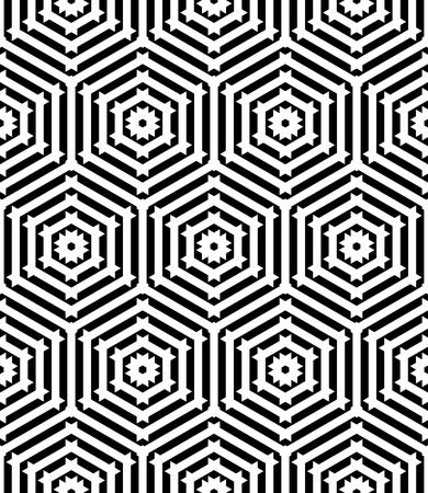 Seamless pattern with geometric texture. Vector art. Illustration