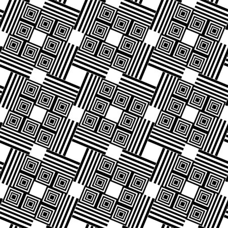 Seamless geometric pattern. Vector art. Stock Vector - 12763259