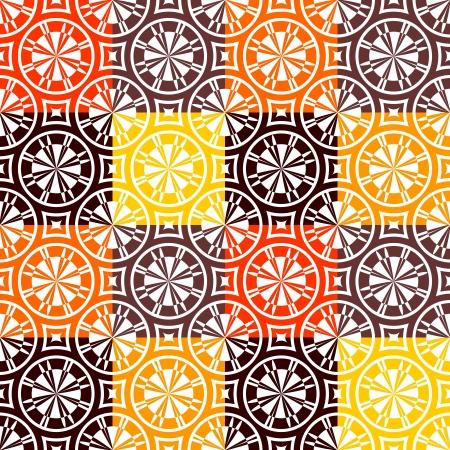 colores calidos: Patr�n sin fisuras marcada con colores c�lidos