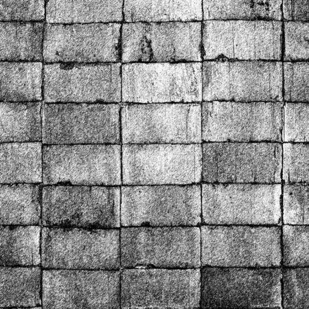 clinker tile: Grunge textura de ladrillos negro abstracto ilustraci�n fondo geom�trico