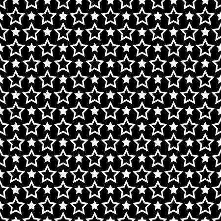 iteration: Seamless stelle texture. Vettoriali