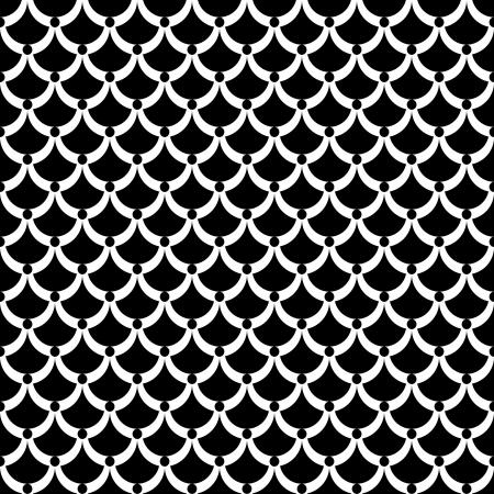 semicircular: Seamless texture   Illustration