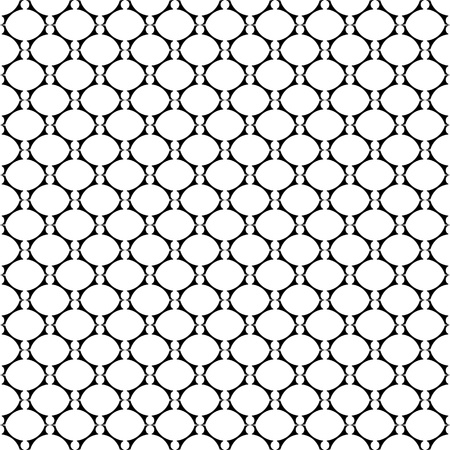lattice: Seamless laced texture with oval elements  Vector art
