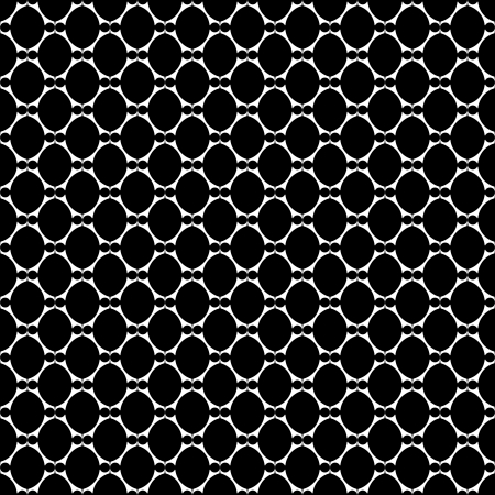 laced: Seamless laced texture with oval elements  Vector art