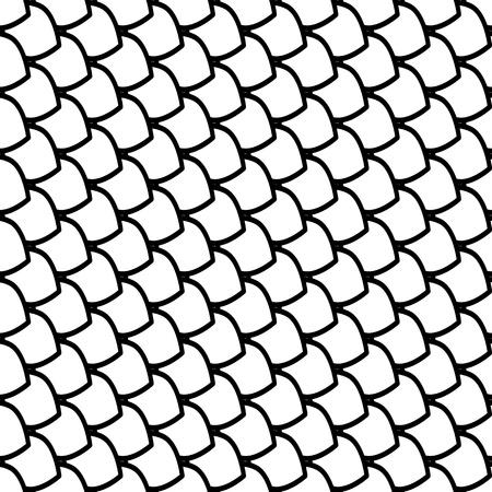 escamas de peces: Escamas de pescado de textura. Vectores