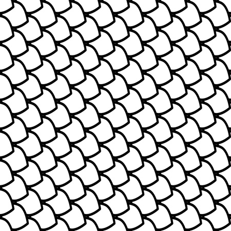 Fish scales texture. Vector
