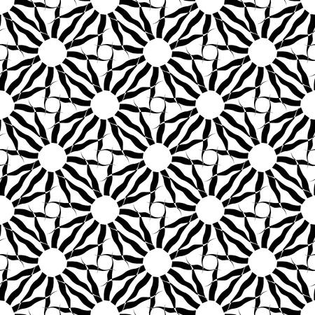 Seamless pattern. Abstract decorative texture.  Vector