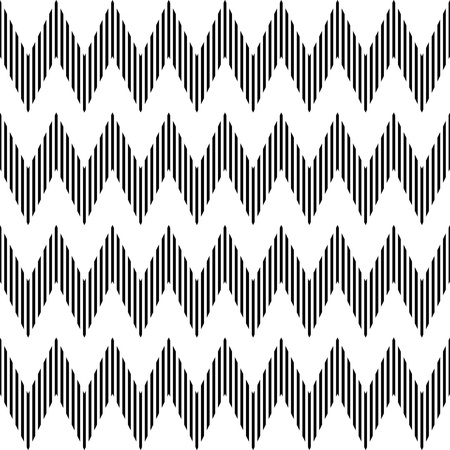 zag: Seamless geometric zigzag pattern Illustration