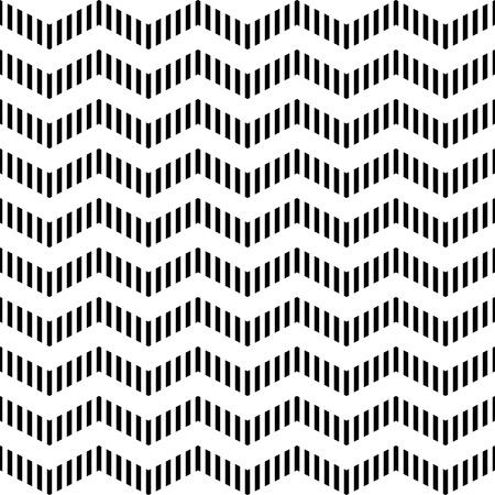 zag: Seamless geometric zigzag pattern Illustration