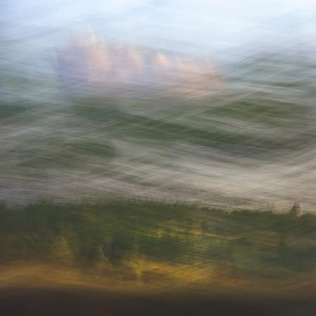 illusory: Unique surrealista pictorialismo ilusorio paisaje estilo abstracto del fondo