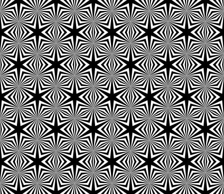 Seamless decorative hexagons texture.  Illustration