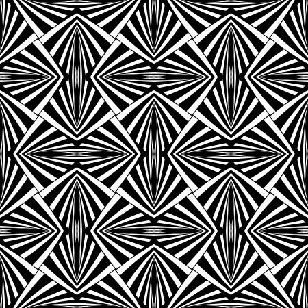 op art: Seamless geometric texture.