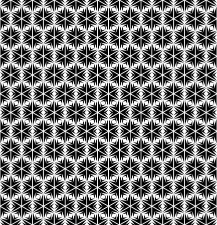 op art: Seamless geometric texture in op art design.