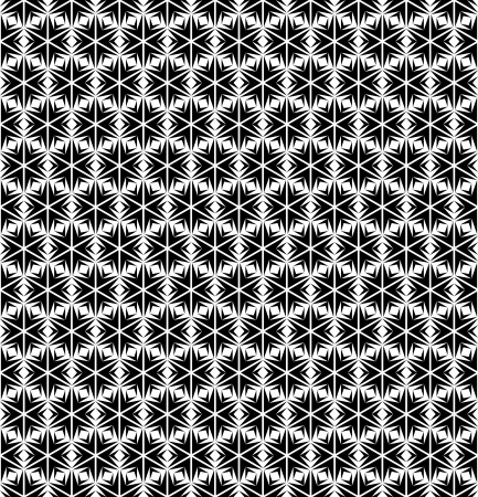 op: Seamless geometric texture in op art design.