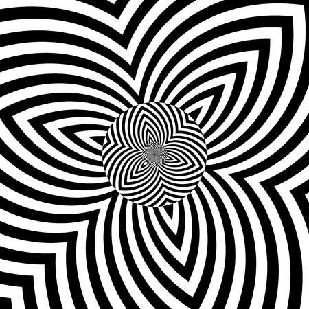 Decorative abstract design  Vector art  Illustration