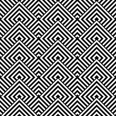 Seamless geometric texture. Vector art. Vector