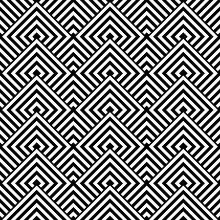 Seamless geometric texture. Vector art.