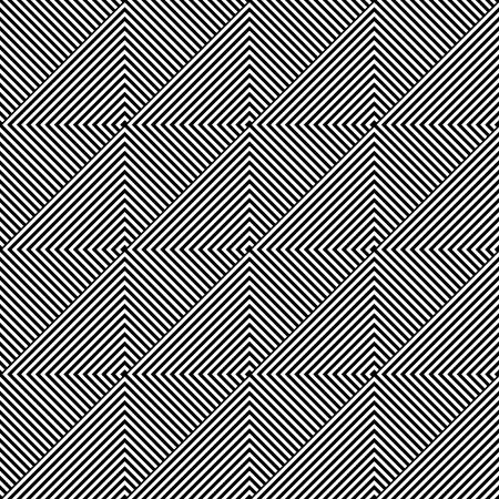 Naadloze geometrische diagonale textuur. Vector art.