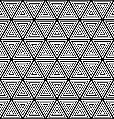iteration: Seamless disegno geometrico. Vector art. Vettoriali