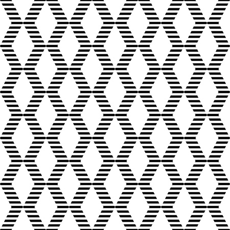 zag: Seamless geometric zigzags and diamonds pattern.