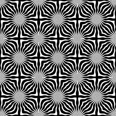 radiate: Seamless pattern.  Illustration