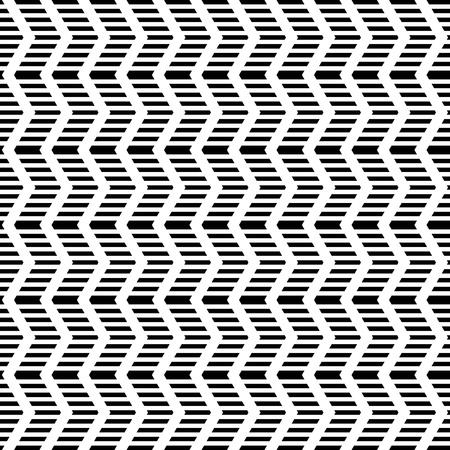 web2: Seamless geometric zigzag pattern. Striped texture. Vector art. Illustration