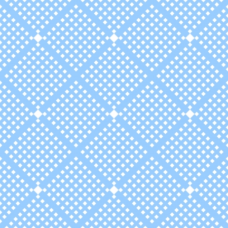 lattice: Seamless checked blue pattern  Simple diagonal texture  Vector art
