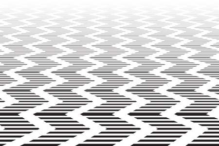 strip structure: Zigzag textured surface. Abstract geometric background. Vector art.