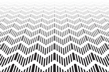 Textured zigzag surface. Abstract geometric background. Vector art. Stock Vector - 21747375