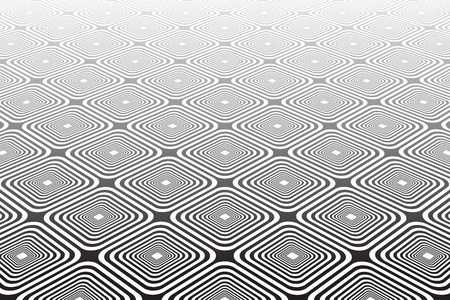 Abstract geometric diagonal background. Textured checked surface. Vector art.