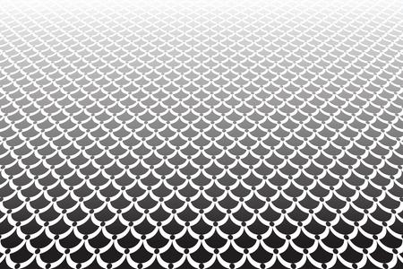 semicircular: Abstract textured Vector art